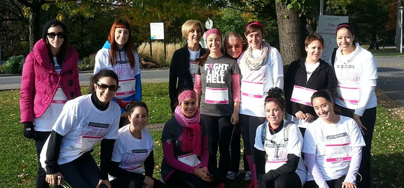 Run for the Cure Team Lasik MD