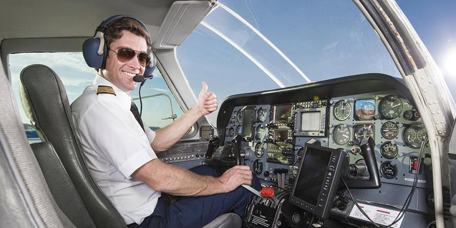Vision flight pilot LASIK